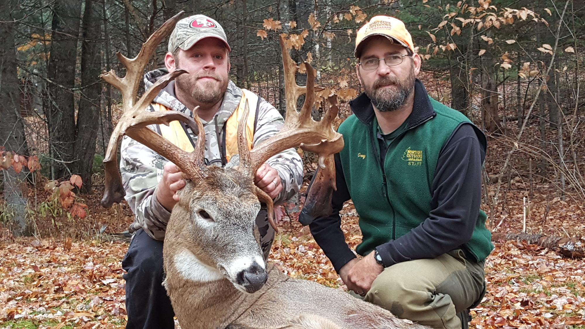 Trophy Whitetail Deer at Northern Outdoors