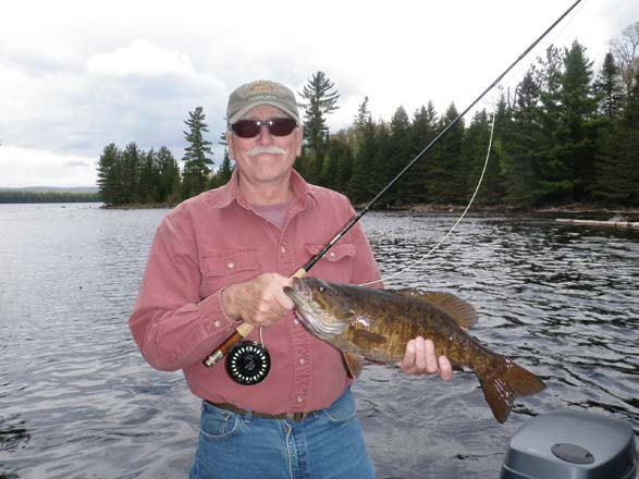 Fly Fishing for Bass with Guide