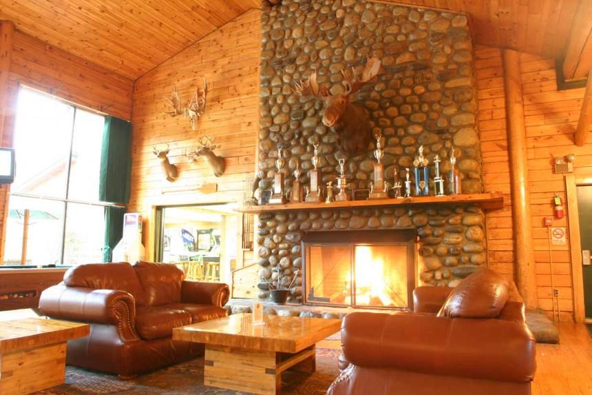 Main Lodge Fireplace