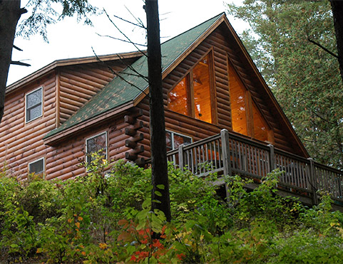 Hunting cabin rental