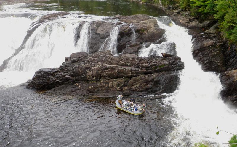 Guided Fishing at Grand Falls
