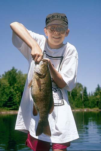 Bass Fishing with Kids