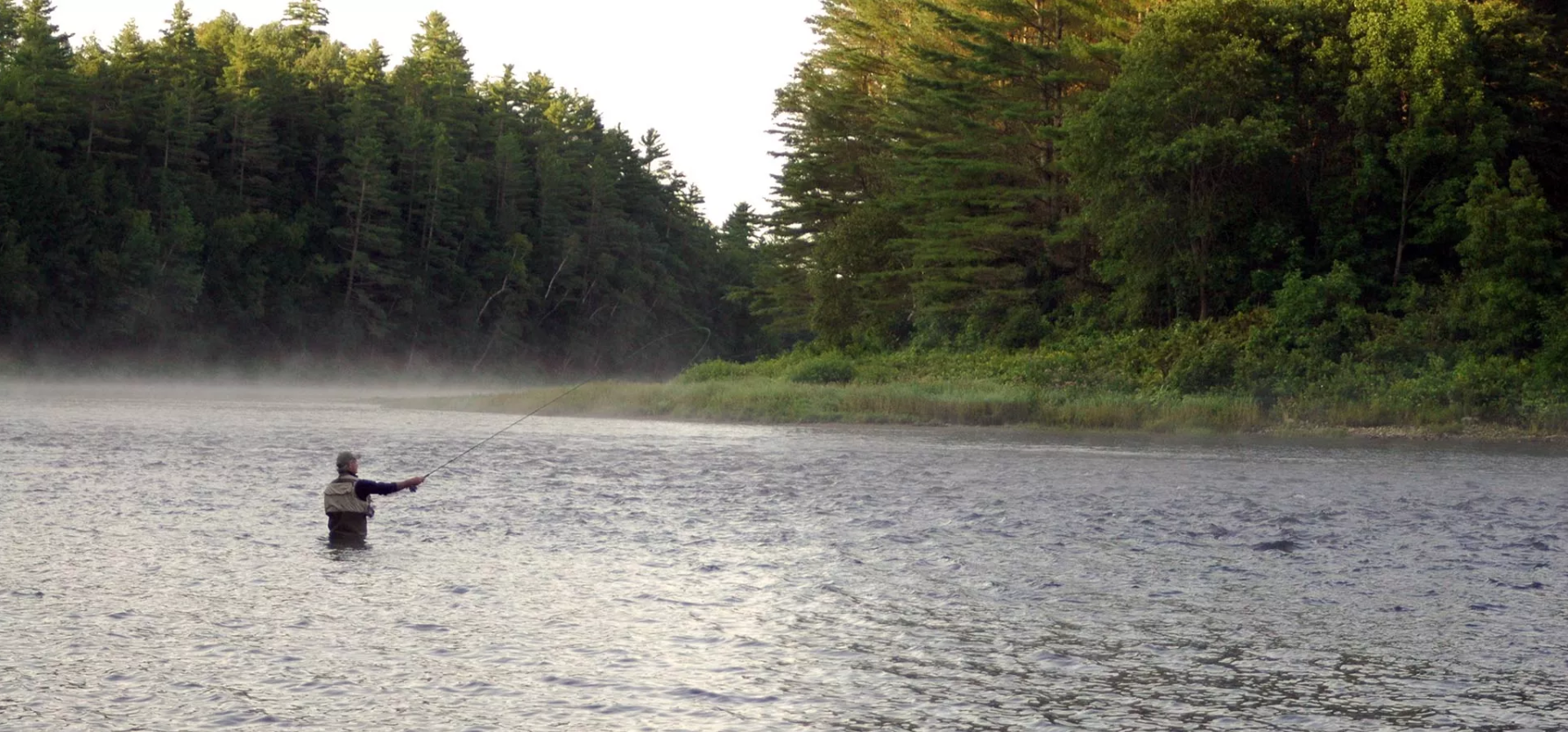 Fly Fishing The Forks Maine