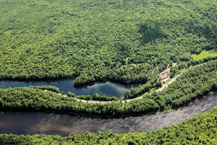 Kennebec River, Martin Pond, Northern Outdoors resort