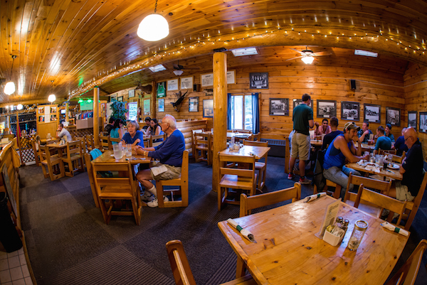 Interior Northern Outdoors Restaurant