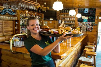 Kennebec River Brew Pub Server